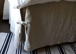 White Bed Skirt Queen The Importance Of Linen Sheets Home And Textiles