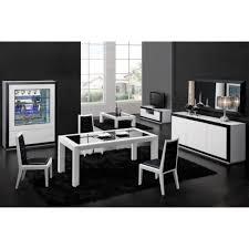 Dressoir Blanc Laque by Bahut Noir Et Blanc Laqu Cool Salle Manger Complete Table Chaise