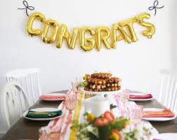 sale 14 slay balloons graduation letter balloons gold