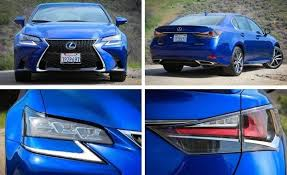 lexus gs 350 coupe 2016 lexus gs350 f sport test review car and driver