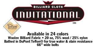 Championship Billiard Felt Colors Move Pool Table Cloth Call Ak Pool Tables