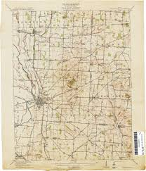 Map Of Pike County Ohio by