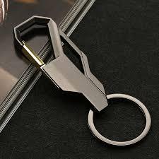 key rings mens images Metal keychain cable rope key holder keyring creative waist jpg