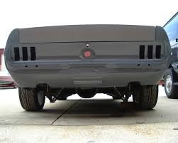 1968 mustang rear end rear valance woes mustang forums at stangnet