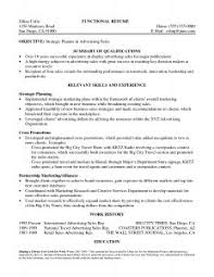 Resume Synopsis Sample by Traditional Resume Examples
