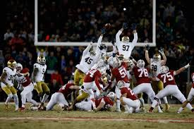 Stanford Resume Template Stanford U0027s Last Second Field Goal Slams Door On Notre Dame Playoff