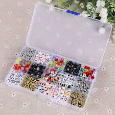bracelet braid kit images Kit of 1100 letter alphabet beads for braided bracelet with jpg