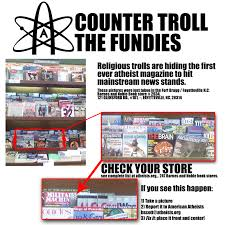 Barnes And Noble Lafayette Indiana Trolls Really Are U0027misplacing U0027 The 1st Issue Of Atheist Magazine