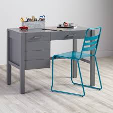 Kids Table And Chairs With Storage Uptown Desk Grey The Land Of Nod