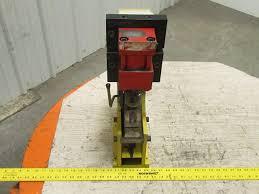 Bench Punch Press Custom Bench Mount Hydraulic Punch Press Aluminum 19 Ga X 75