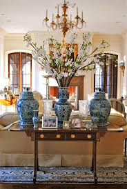Chinese Living Room Furniture Set Living Chinese Chinoiserie Vase Blue White Living Room Sofa End