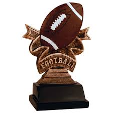 football ribbon football ribbon resin trophy football ribbon resin award
