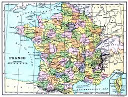 French Map Maps Of The Regions Of France Map Of France Departments Regions