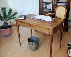 petit bureau bois toilettage d un bureau louis xvi l atelier bois