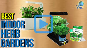 top 7 indoor herb gardens of 2017 video review