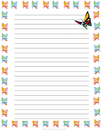 butterflies free printable stationery free printable