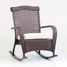 Rocking Chair Cushion Sets Cushioned Rocking Chair Ruby Plaid Jumbo Rocking Chair Cushion
