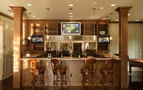 kitchen u0026 bar basement man cave bars for basements man cave