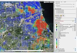 Race Map Of America by Chicago Shootings Map Chicago Shooting Hotspots Map United