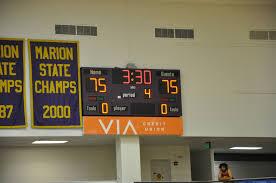 boys basketball game giant challenge 2016 marion high