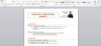ms word resume template 2015 resume cingular wireless college