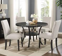 espresso dining room set roundhill furniture biony espresso 5 dining set reviews
