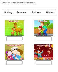 season worksheets season worksheets for kindergarten