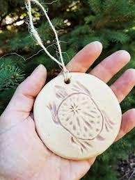 Locket Ornament Tree Of Life Ceramic Christmas Ornament Ceramic Sculpture And