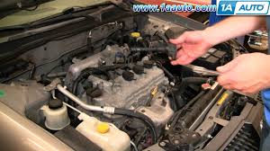 how to install replace ignition coil nissan sentra 2 5l 02 06