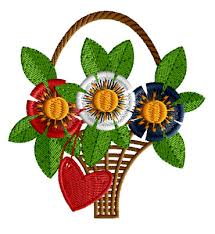 designs patriotic flower free embroidery designs abc free