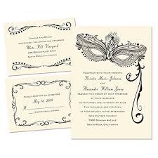 masquerade themed wedding invitation it masked mystique 3