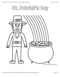 rainbow pot of gold coloring pages 54 best st patrick u0027s day images on pinterest st patrick u0027s day