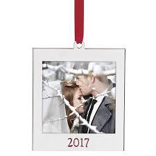 2017 picture frame ornament lenox ornaments photo ornament