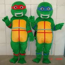Ninja Turtle Womens Halloween Costumes Teenage Mutant Ninja Turtles Size Cartoon Mascot Costume