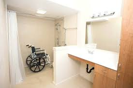 bathrooms design wheelchair accessible bathroom for knee joint