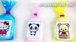 diy miniature kawaii cotton candy bags easy doll crafts 5 minutes