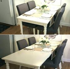 white dining room table extendable extendable table ikea glass dining room tables extendable table