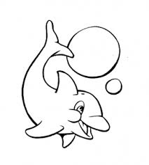 dolphin coloring pictures coloring pages adults