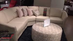 Palliser Palliser Alula Sectional Leather Sofa Youtube