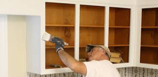 oil based paint for cabinets how to paint kitchen cabinet boxes today s homeowner