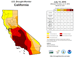 california drought map january 2016 california drought