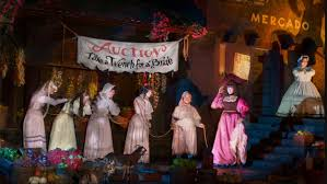 disney u0027s pirates of the caribbean ride to lose u0027wench auction u0027 in