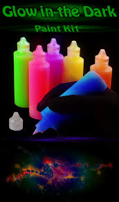 glow paint glow in the paint set includes 6 colors