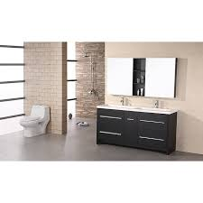 double sink vanity modern home design mannahatta us