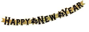 new years streamers logo happy new year streamer custom customized personalised happy