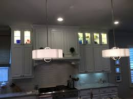 No Upper Kitchen Cabinets Lighted Glassed Stacked Upper Kitchen Cabinets Perfect 12 On Home