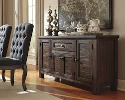 dining room classy wood sideboard cabinet rustic buffet table