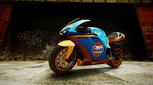 gulf racing motorcycle gta gaming archive