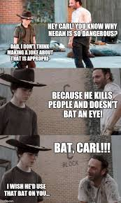 Meme Rick - 35 of the best walking dead carl meme coral dad jokes
