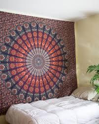 Cute Wall Tapestry Hippie Bedding Sun Moon Mandala Duvet Doona Cover Hippie Bedding